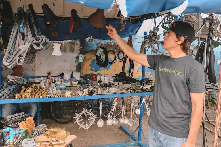 Recyclingmarkt Kuba