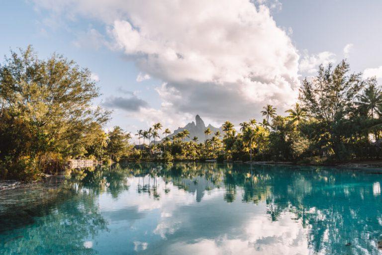 Reiseziele Juli Bora Bora Mount Otemanu