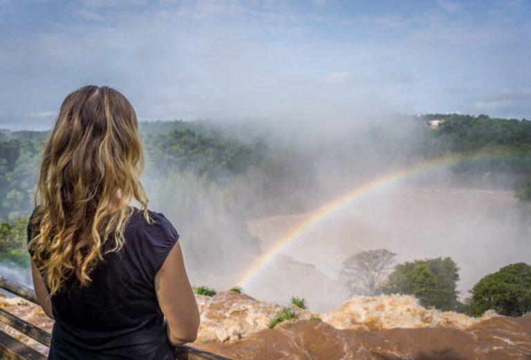 Reiseziele Juli Iguazu Wasserfaelle Brasilien