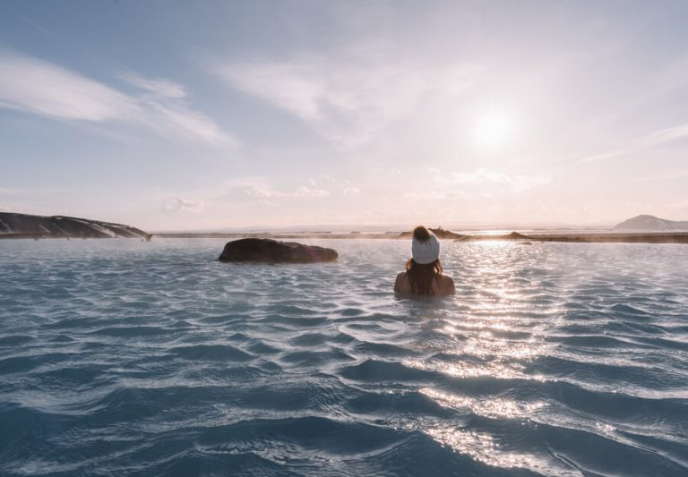 Reiseziele Juli Myvatn Nature Baths Island
