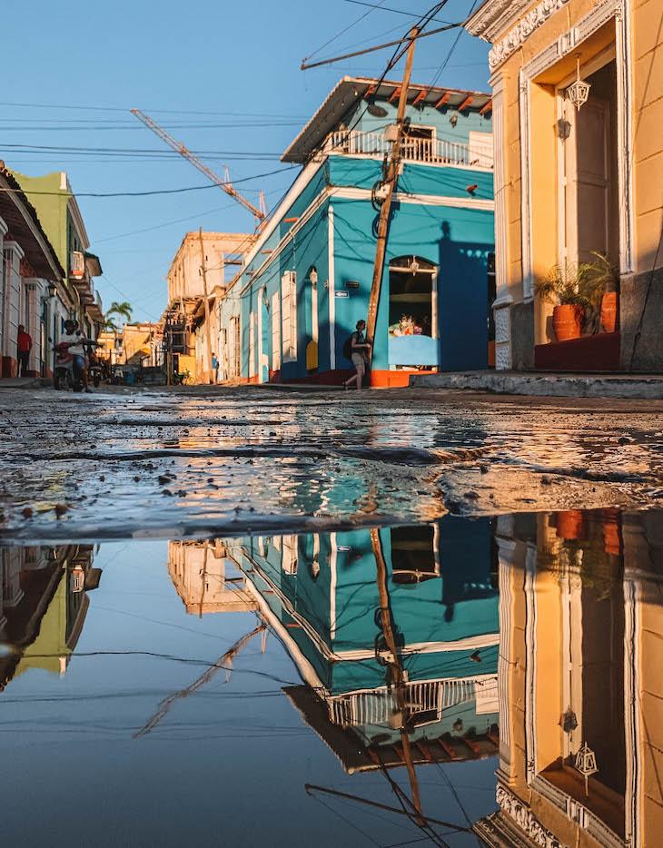 Trinidad Kuba Spiegelung