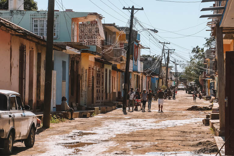 Trinidad Kuba Vorort
