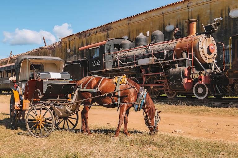 Trinidad Kuba alter Bahnhof