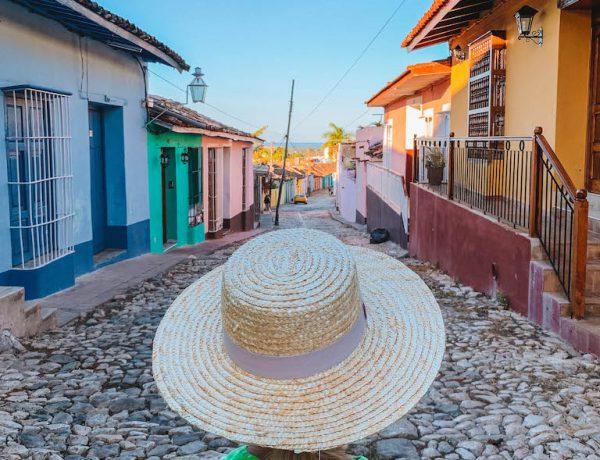 Trinidad Kuba bunte Haeuser