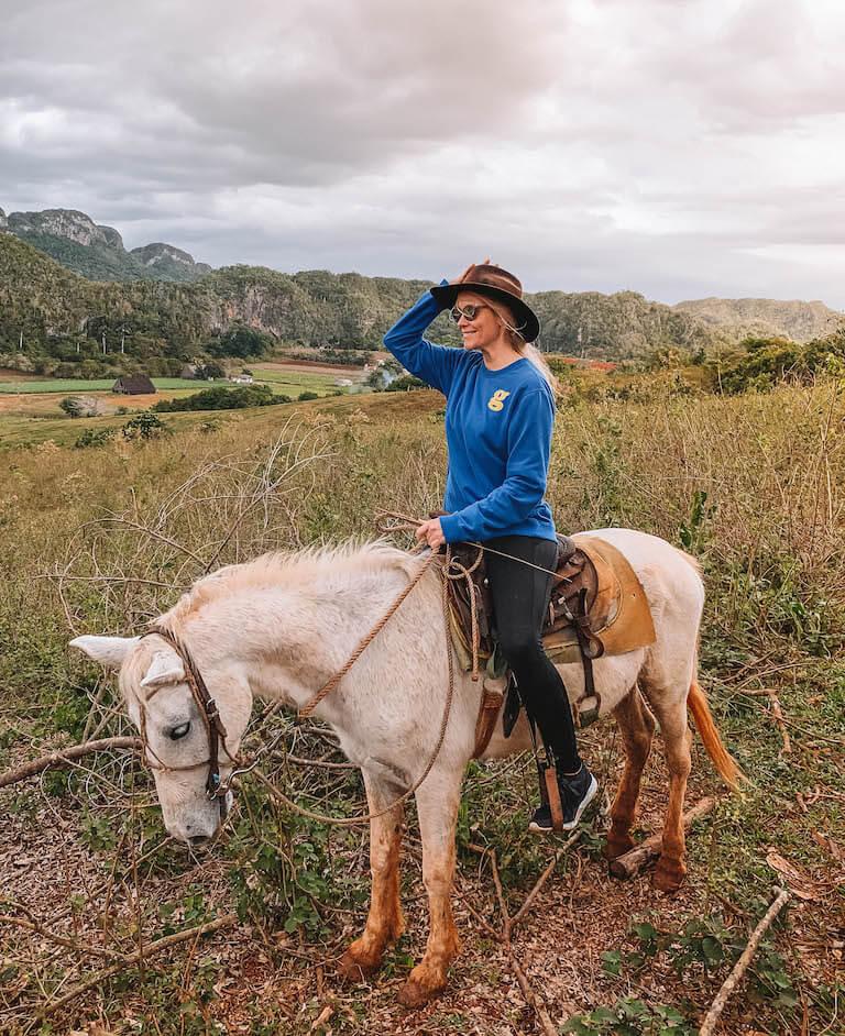 Valle de Vinales Kuba reiten