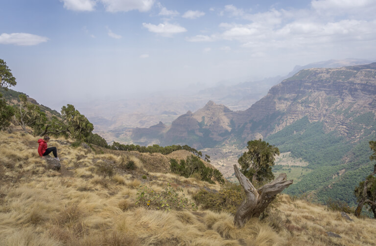 Aethiopien Sehenswuerdigkeiten Simien Mountains
