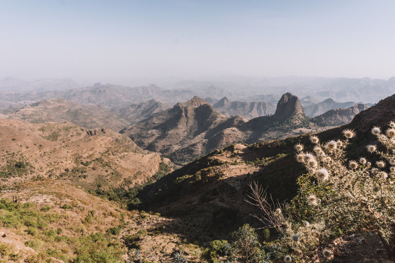 Aussichtspunkt Kossoye Gondar