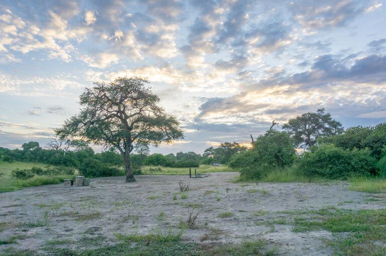 Botswana Chobe Savuti Campsite