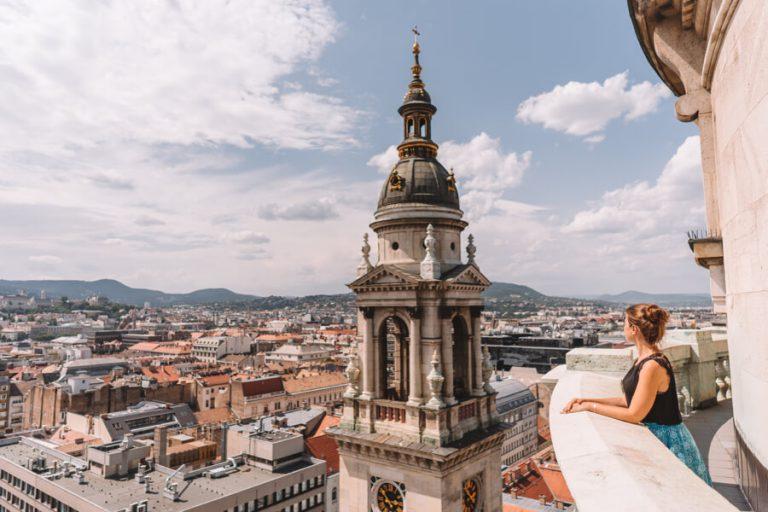 Budapest Sehenswuerdigkeiten St Stephans Basilika