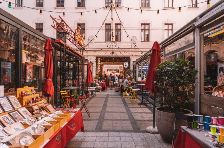 Gozsdu Courtyard Weekendmarket