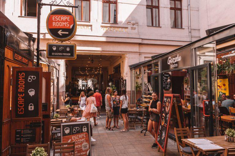 Gozsdu Courtyard Wochenendmarkt