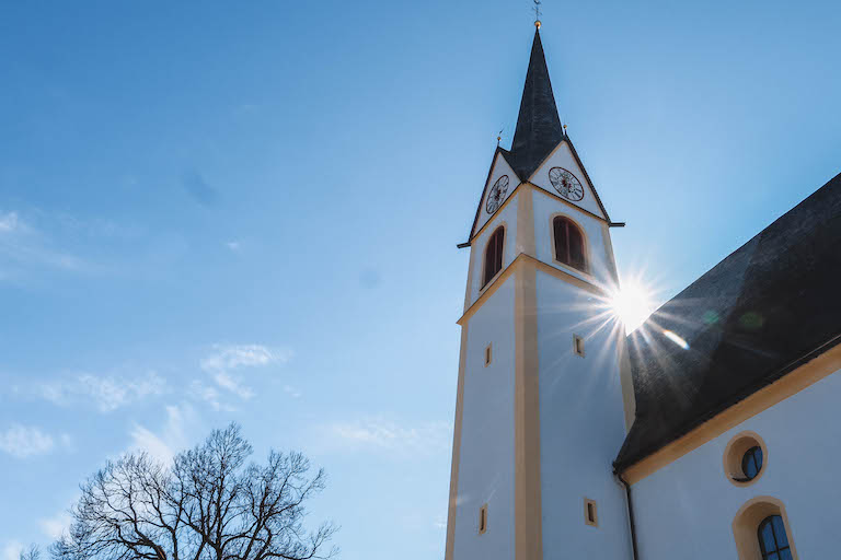 Kirche Fieberbrunn Pillerseetal