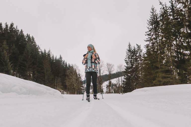 Kitzbuehler Alpen Langlaufen Pillerseetal
