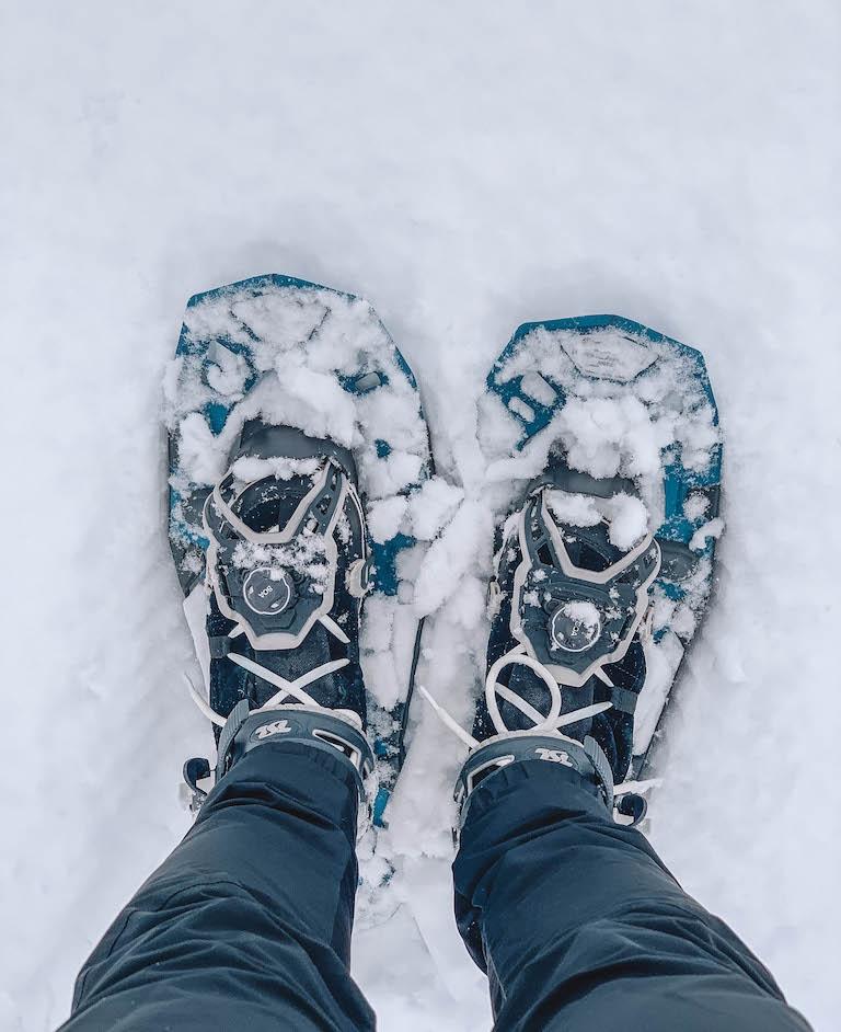 Pillerseetal Schneeschuhwanderung