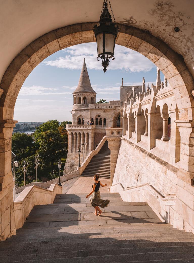Reiseziele Mai Budapest Fischerbastei Burgenviertel