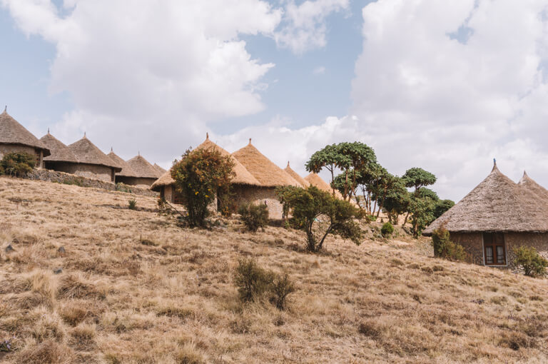 Rundhuetten Simien Lodge
