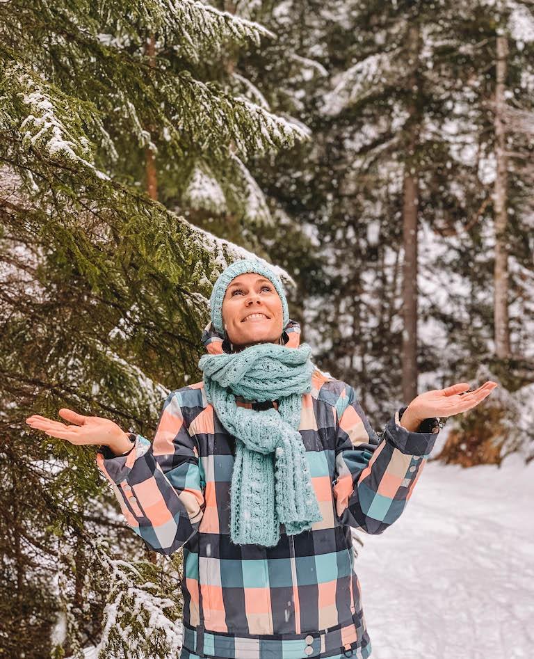 Schnee Pillerseetal