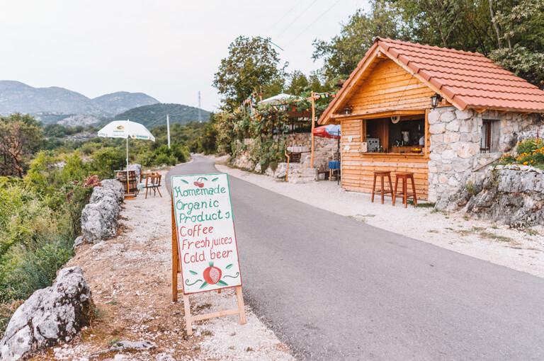 Skutarisee Montenegro Cafe Panorama