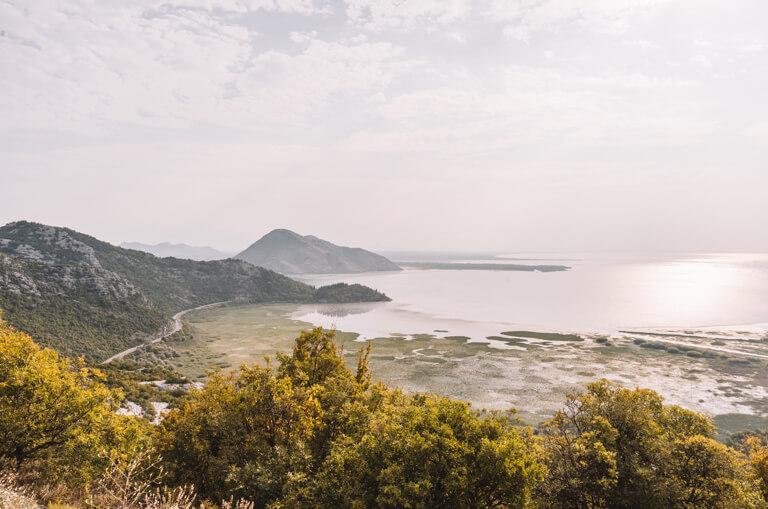 Skutarisee Montenegro Panoramastrasse