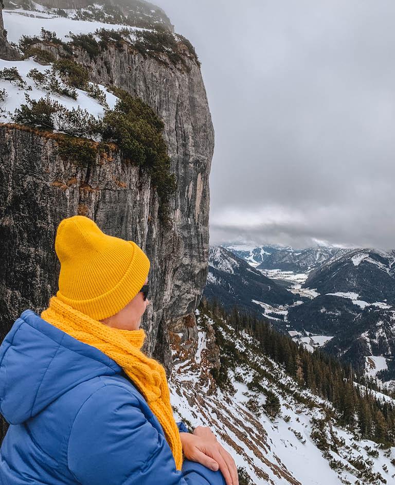 Steinplatte Pillerseetal Aussicht