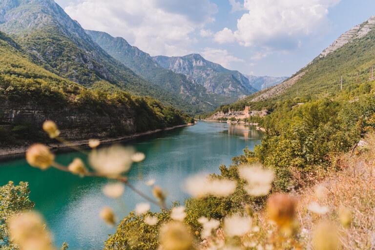 Bosnien und Herzegowina Neretva Fluss
