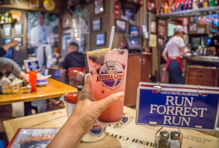 Bubba Gump Shrimp Pier 39