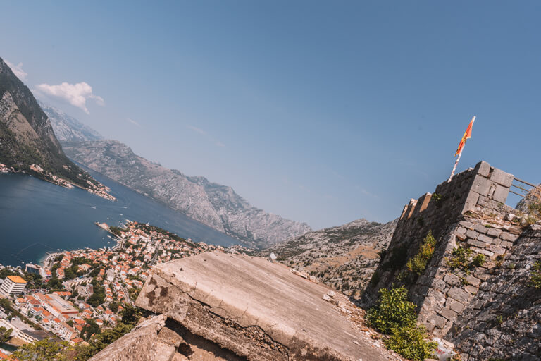 Bucht von Kotor Altstadt Ausblick