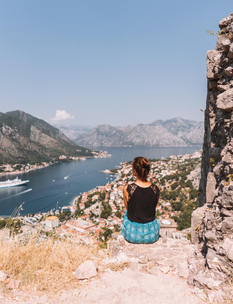 Bucht von Kotor Aussicht