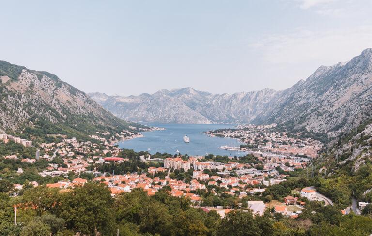 Bucht von Kotor Aussichtspunkt
