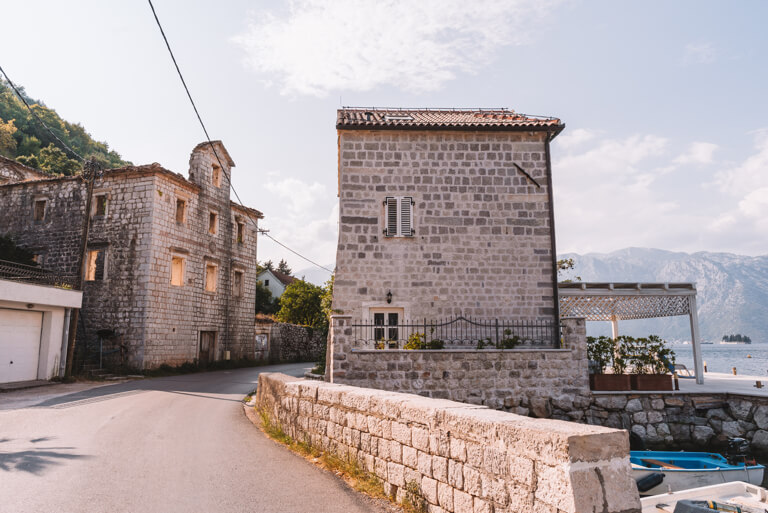Bucht von Kotor Herzeg Novi