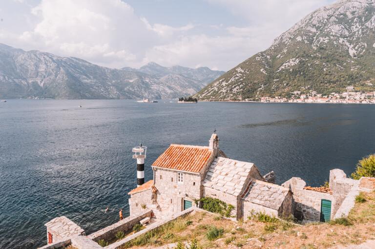 Bucht von Kotor Kloster Kirche