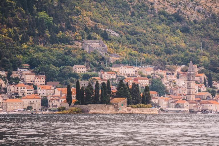 Bucht von Kotor Perast Altstadt