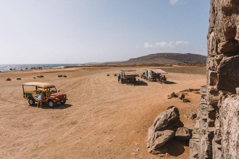 Bushiribana Ruins Aruba Jeeptour