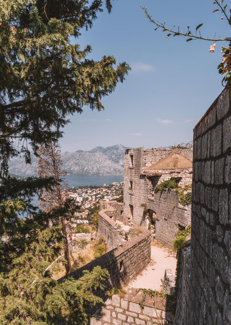 Festungsmauer Kotor