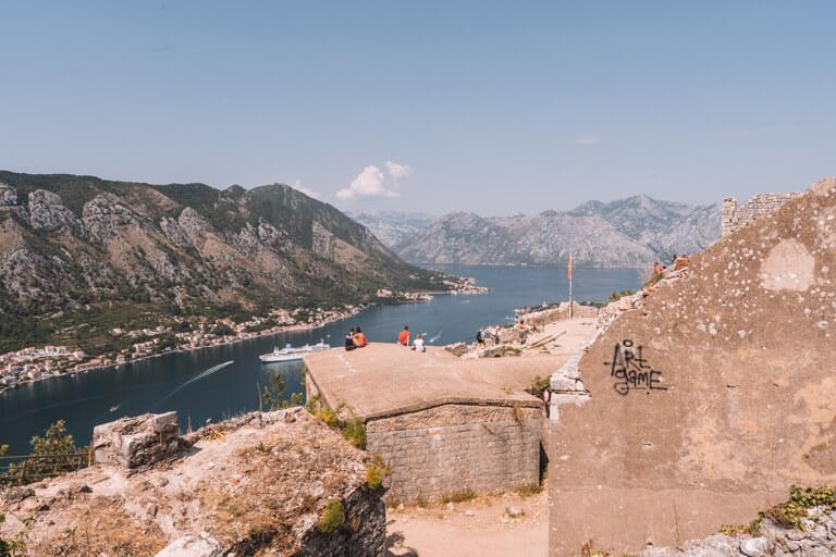 Festungsmauer Montenegro