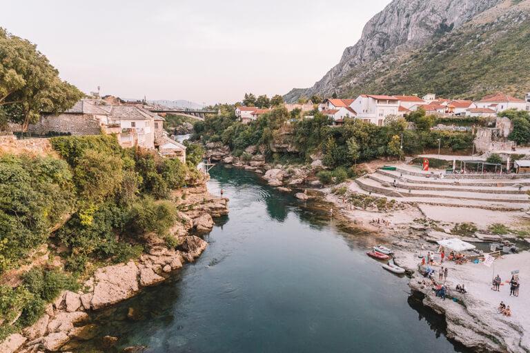 Fluss Neretva