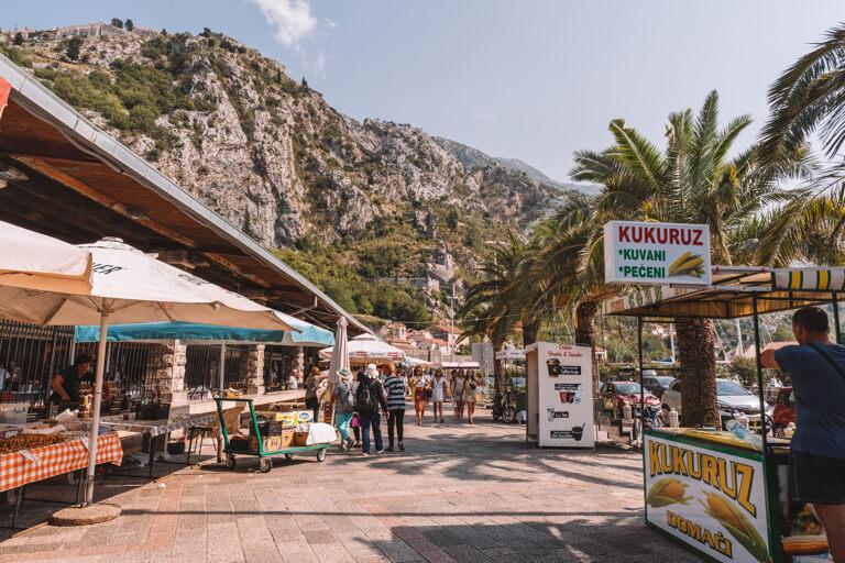 Hafenpromenade Kotor