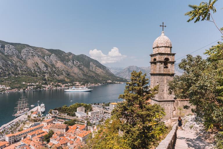 Kirche Stadtmauer Kotor