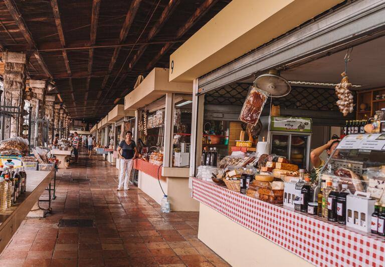 Kotor Altstadt Gruener Markt