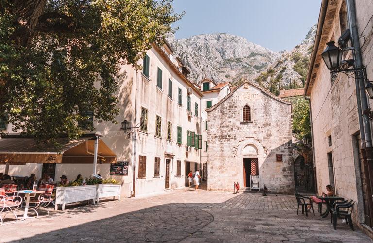 Kotor Altstadt Platz