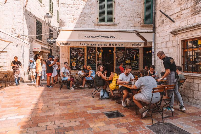 Kotor Altstadt Restaurant