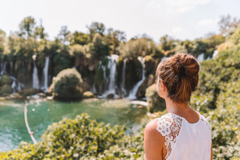 Kravica Wasserfaelle Bosnien und Herzegowina