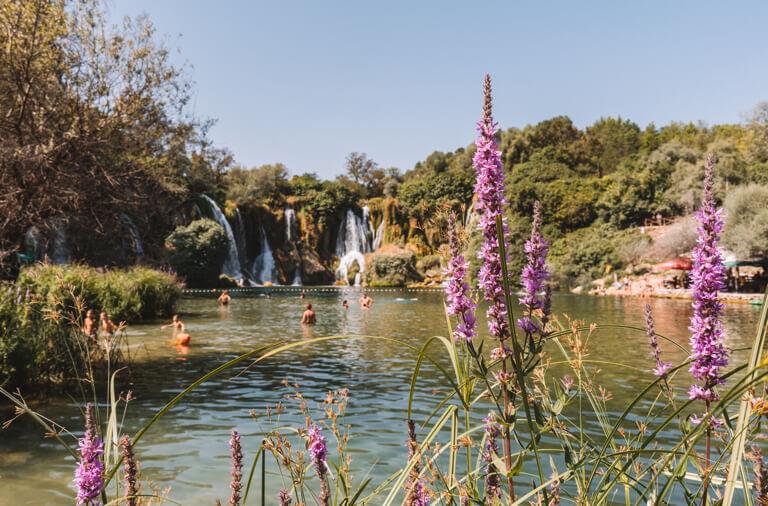 Kravica Wasserfaelle Bosnien