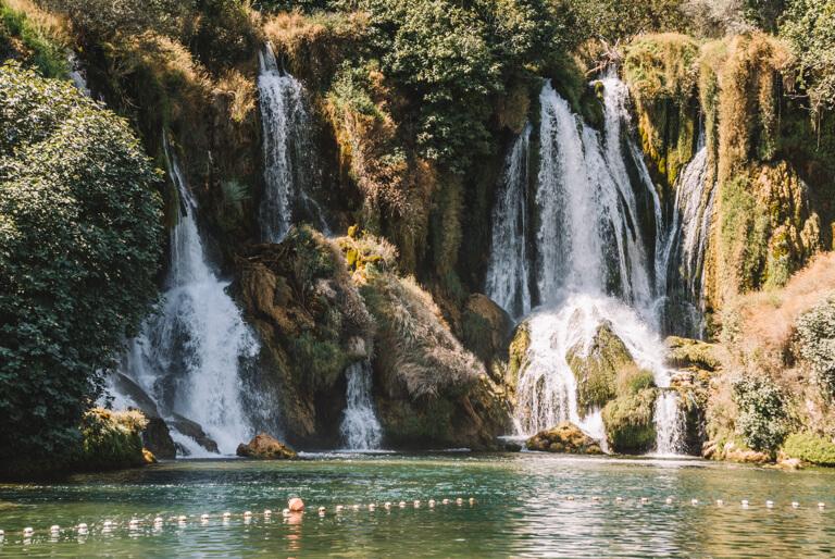Kravica Wasserfaelle Mostar Bosnien