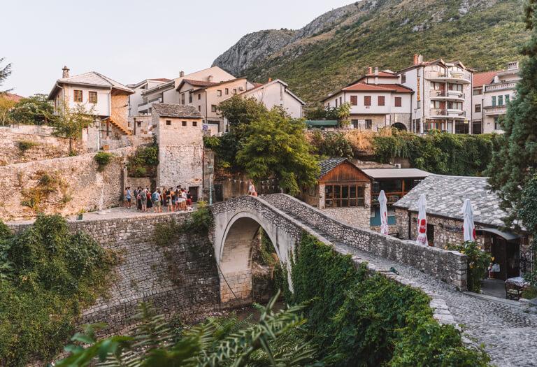 Mostar Bosnien Bruecke