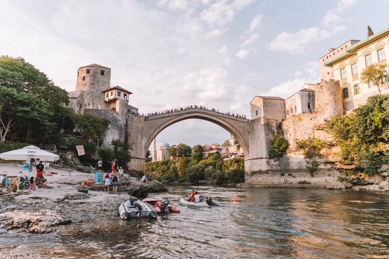 Mostar Bosnien Stari most