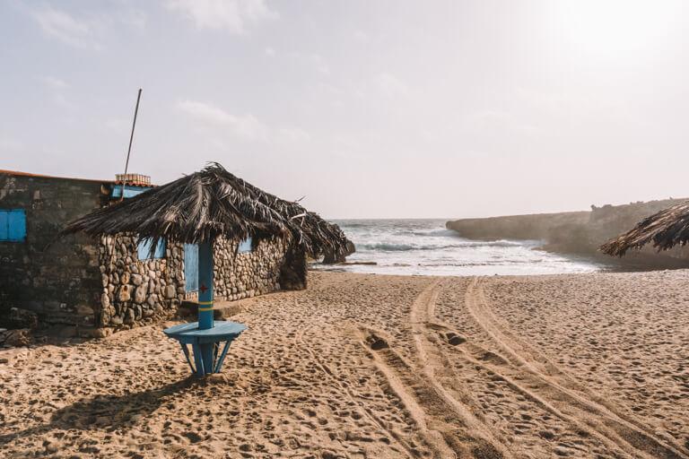 Natural Pool Aruba Arikok Nationalpark Strand