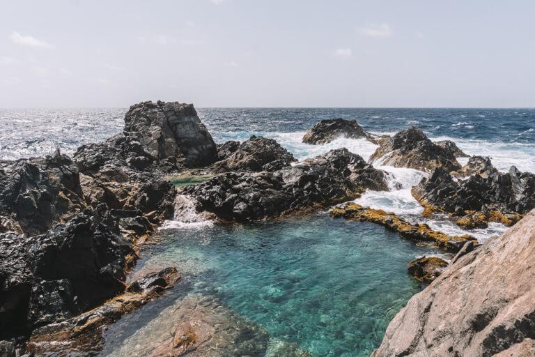 Natural Pool Aruba Arikok Nationalpark
