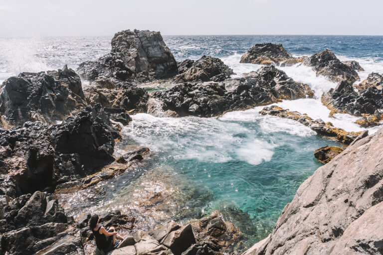 Natural Pool Aruba Baden