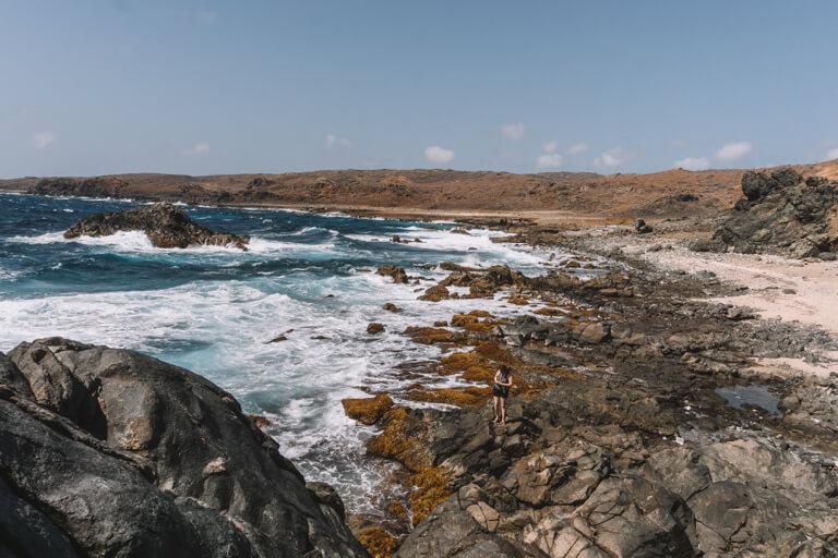 Natural Pool Aruba Kueste Arikok